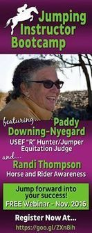 Jumping Instructors FREE Webinar!    | Horse and Rider Awareness | Scoop.it