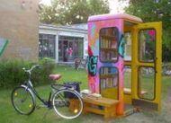 Rien ne se perd, rien ne se crée (épisode 1) : France Télécom recycle ses cabines en bibliothèques de rue / Actualités / MesCoursesPourLaPlanète.com | Monde des bibliothèques | Scoop.it