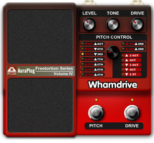 Download Free Pitch shifter / distortion plug-in: Whamdrive Distortion by AuraPlug | DIY Music & electronics | Scoop.it