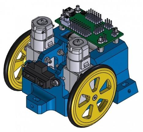 SCOTT: petit robot éducatif - Wikifab    robotique-codage-technologie-low-tech    Scoop.it