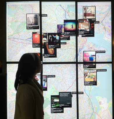 Boston Globe's Instagram wall feeds its journalism | social media and digital marketing | Scoop.it