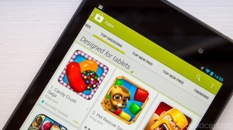 Play Store will now show tablet-designed apps by default on tablets | Mobile Tools | Scoop.it