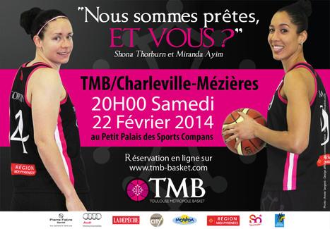 Soutenez les basketeuses Toulousaines !   Agnès FAURY CEDIOLI   Scoop.it