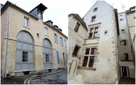 Chantier de rénovation rue de nièvre et rue du singe à nevers deux bâtiments ont retrouvé leur cachet dantan