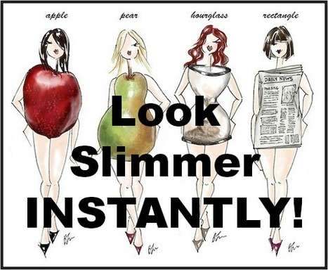 Look Slimmer INSTANTLY! | Shrink That Belly Fat! | Shrink That Belly Fat | Scoop.it