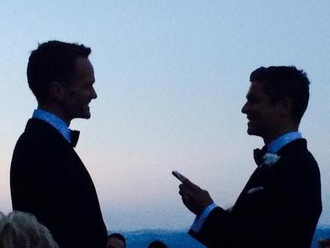 Neil Patrick Harris And David Burtka Got Married Over The Weekend | notstraight.com | Scoop.it