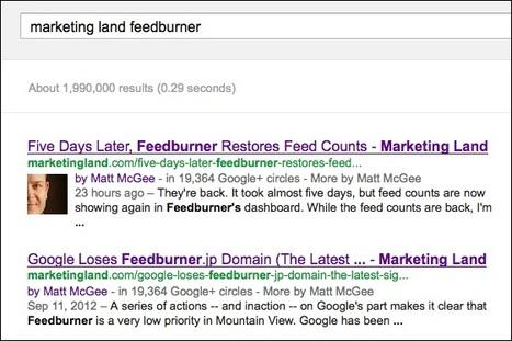 Google Confirms Hidden Benefit Of Authorship: Bonus Links After A Back-Button Click   Online Marketing Resources   Scoop.it