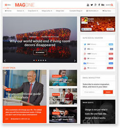 MagOne Responsive Blogger Template | Blogger themes | Scoop.it