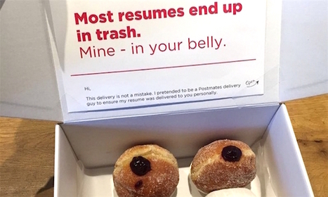 Man Disguises As Courier, Scored 10 Job Interviews By Delivering Donuts | Artdictive Habits : Sustainable Lifestyle | Scoop.it