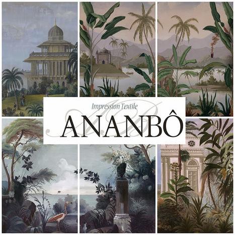 Ananbo In Tissu D Ameublement Art Textile Et Papier Peint De Luxe