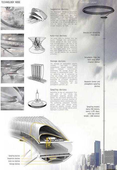 Air Monument, un gratte-ciel pour surveiller l'évolution du climat | développement durable - périnatalité - éducation - partages | Scoop.it