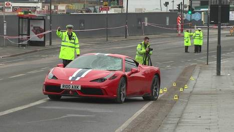 Seven injured as Ferrari 458 mounts pavement and sends boy 'flying over bridge railings' | Policing news | Scoop.it