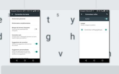 [Tutoriel] Comment bien utiliser la correction automatique sur le clavier Android | L'e-Space Multimédia | Scoop.it