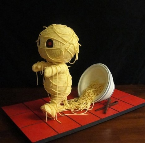 'Ramen'ses Return Cake: Oodles of Noodles | All Geeks | Scoop.it