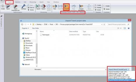 Process project packages from memoQ in Transit NXT (fromTransit/TermStar NXT Tooltips blog)   Translator Tools   Scoop.it