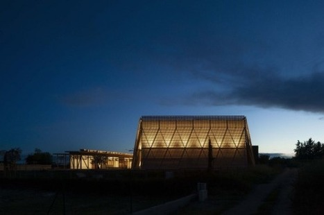 [Mazan, France]  : The 'boiserie', a multi-function eventcenterwith a 1000-person capacity | The Architecture of the City | Scoop.it