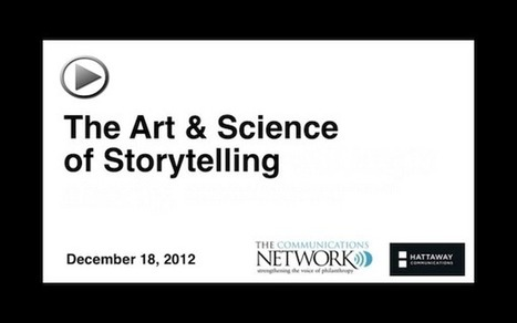 The Art and Science of Storytelling (VIDEO) | That In Between Space - Immersive Storytelling for Learning | Scoop.it