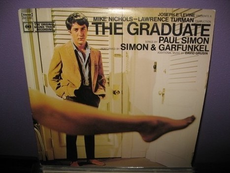 Vinyl Record Album The Graduate Original by JustCoolRecords   Herstory   Scoop.it