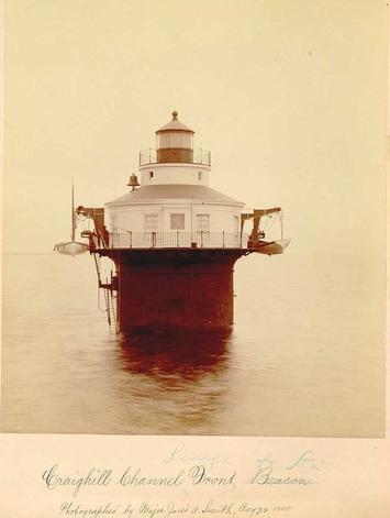 Original 1885 Chesapeake Lighthouse Photographs Mounted Albumen Prints | Antiques & Vintage Collectibles | Scoop.it