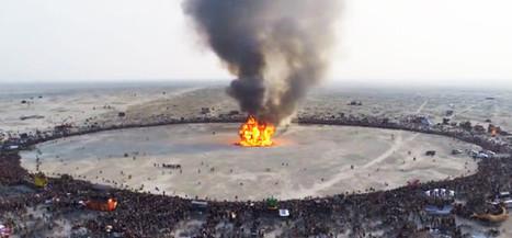 Connaissez-vous l'empreinte écologique du Burning Man ? | We are numerique [W.A.N] | Scoop.it