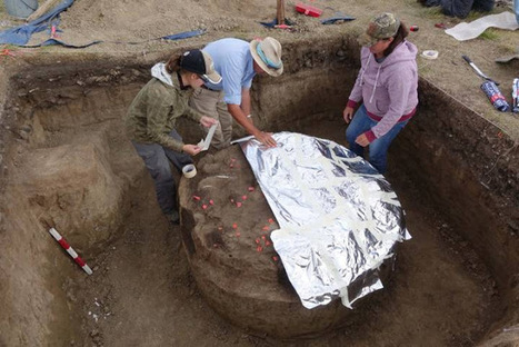 Royal Alberta Museum to crack open 1,600 year old roasting pit with meal still inside | Archaeology & Archaeological News | Scoop.it