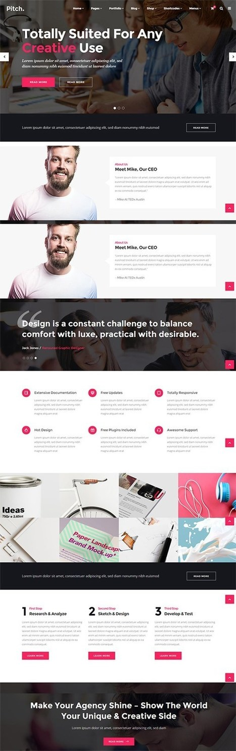 15 New WordPress Portfolio Themes & Templates | Design Slots | Scoop.it