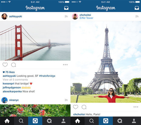 Here's Why Instagram Chose to Break the Frame | Mobile Photography | Scoop.it
