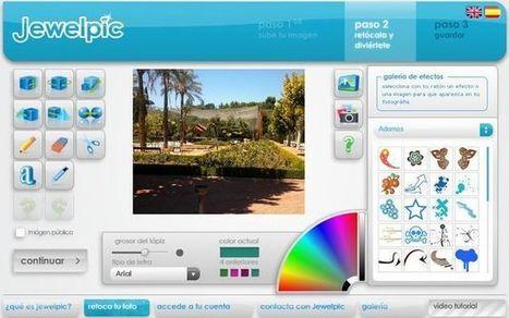 Jewelpic, utilidad web para decorar tus fotografías | Aplicaciones para crear | Scoop.it