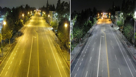Adios Yellow Glow: How LED Streetlights Will Change the Look of Night Photography | MediaMentor | Scoop.it