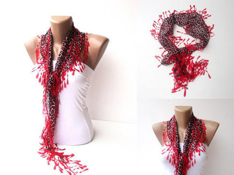 Knit Ruffled Scarf,multicolor scarf,2013 NEW TREND SCARF,accessories ...