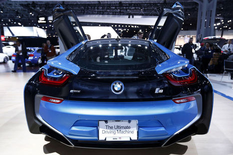 BMW's $135,700 I8 Wraps Sports-Car Power in Sci-Fi Looks | Automotive Supply Chain | Scoop.it
