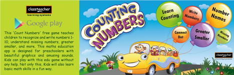 Counting Numbers for Kids - Applications Android sur GooglePlay   Educational Videos & Games for Kids   Scoop.it