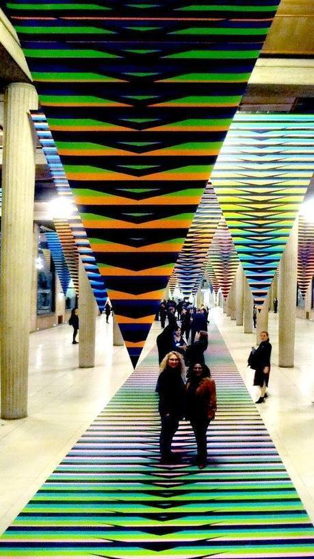 Carlos Cruz Diez: A Floating Be | Art Installations, Sculpture, Contemporary Art | Scoop.it