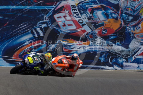 Slideshow | Rossi-Stoner Laguna Seca 2008 Battle | Andrew Wheeler - AutoMotoPhoto | Ductalk Ducati News | Scoop.it
