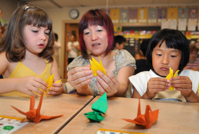 Cambridge school makes 1000 paper cranes for students in Japan quake zone - Waterloo Record   World News... News From Around The World   Scoop.it