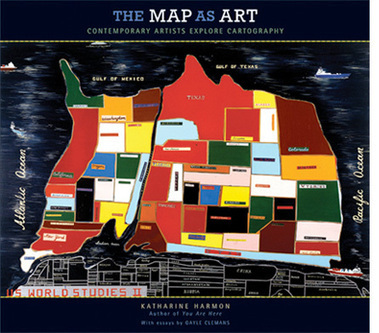 The Map as Art: Contemporary Artists Explore Cartography | Map@Print | Scoop.it