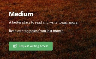Anyone can now sign up for Medium with their Twitter account | Onderwijs en digitalisering | Scoop.it