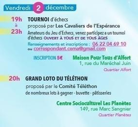 2 et 3 décembre 2016, le Téléthon à Maisons-Alfort   Charentonneau   Scoop.it
