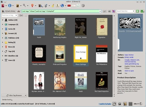 Calibre, la navaja suiza de gestión de 'ebooks'   eliburutegia   Scoop.it