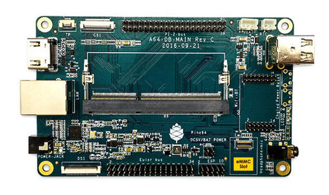 "PINE64 Introduces SOPINE A64 Allwinner A64 SoM and SOPINE ""Model A"" Baseboard 