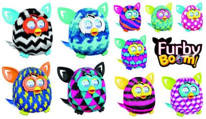 furby boom colors hot christmas toys 2013 f