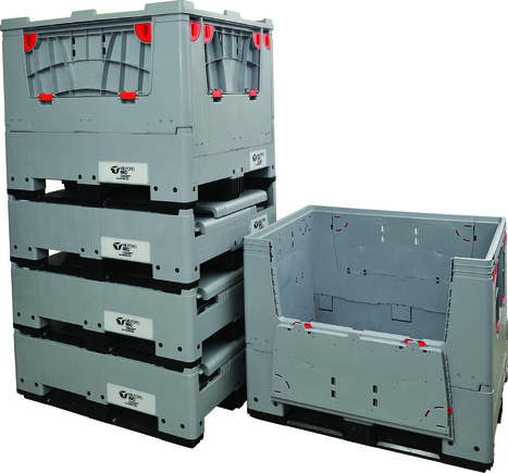Jan/Feb Special folding box pallets. | Space saving in the Supply chain | Scoop.it