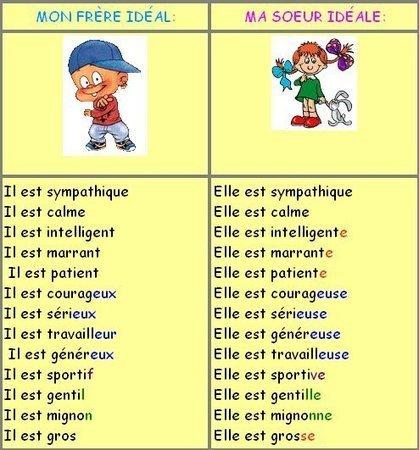 Le féminin des noms et des adjectifs | Le Top du FLE | Scoop.it