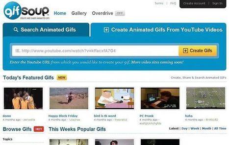 GIFSoup, para convertir vídeos de YouTube a formato GIF   Conocimiento libre y abierto- Humano Digital   Scoop.it