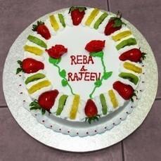 Buy Online Valentines Day Cake In Toronto