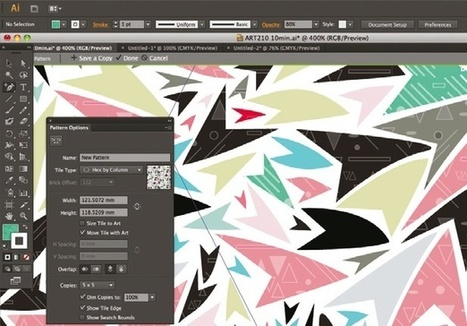 Create patterns with fun and movement | Designer's Resources | Scoop.it