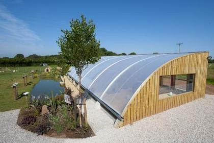 The Aquaponics Solar Greenhouse | Humble by Nature, Wye Valley, Wales | world as cohabitat | Scoop.it