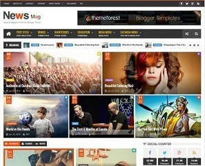 News Mag Responsive Blogger Template | Blogger themes | Scoop.it
