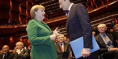 UE: Mario Draghi défie Angela Merkel ' Histoire de la Fin de la Croissance ' Scoop.it