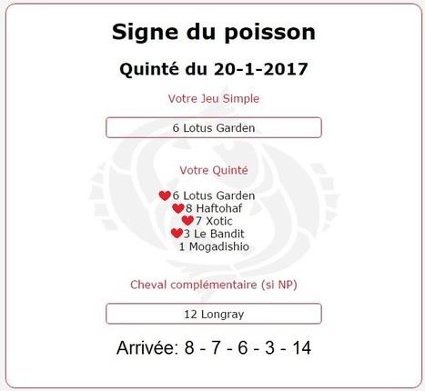 #Tiercé-#Quarté-#Quinté+Vendredi c'est le Jour du Poisson!! | Pariez avec ASTROQUINTE | Scoop.it